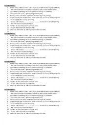 English Worksheet: Paraphrasing exercise