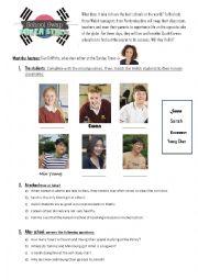 English Worksheet: School Swap: Korea Style (BBC documentary EP. 1)