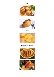 English Worksheet: British Food Photos