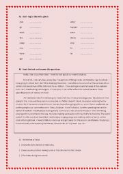 English worksheet: Gerunds Love Like Can´t Stand etc.