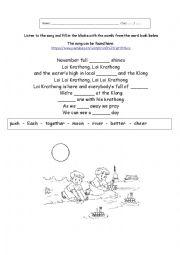 loy krathong coloring pages - photo#25