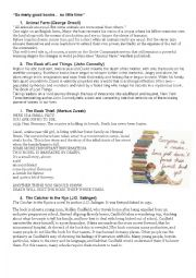 Classic and contemporary young adult literature list with blurbs. Updated.