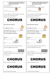 English Worksheet: Bon Jovi Song