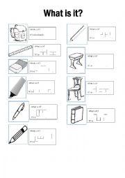 Classroom stationery