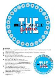 The alphabet game - elementary
