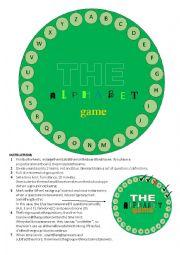 The alphabet game - intermediate
