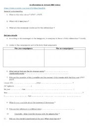 English Worksheet: A referendum about gay marriage in Ireland