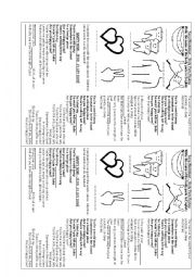 Song Worksheet - Happy Now (Body Parts)