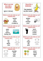 English worksheet: CLASS RITUAL CARDS