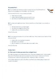 English worksheet: Pet practice.