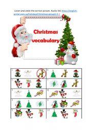 Сhristmas vocabulary