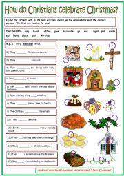 How do Christians celebrate Christmas?