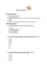 English Worksheet: Mac Vities Original