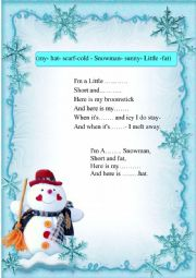 A Christmas poem for children.