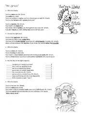 English Worksheet: Mr Grinch