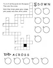 Color Crossword