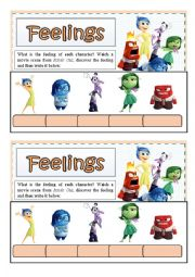 English Exercises: Feelings and verb to be