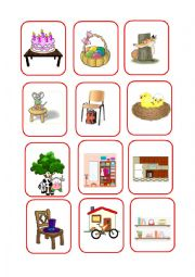 English Worksheet: GAME PREPOSITIONS 2 / 4