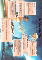 English Worksheet: Colors of the Wind - From Pocahontas