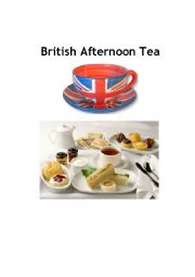 English Worksheet: High tea