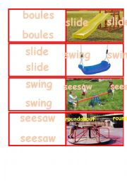 English Worksheet: outdoor activities dominoes