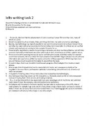 English Worksheet: ielts writing task 2