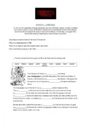 English worksheet: Stranger Things - Episode 1