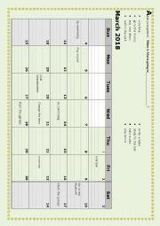English worksheet: Calendar pairwork