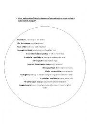 English worksheet: Problem Hunt