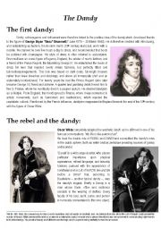 Oscar Wilde and the Dandy