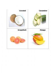 English Worksheet: Fruit 2