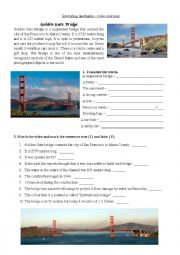 Golden Gate Bridge video exercise