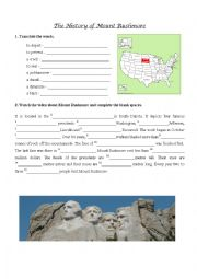 Mount Rushmore video exercise