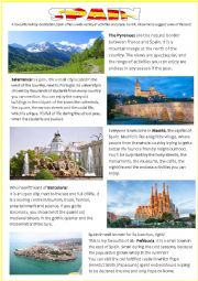 HOLIDAY DESTINATIONS: SPAIN