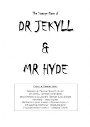 English Worksheet: The Strange Case of Dr. Jekyll and Mr. Hyde - A Play - Drama