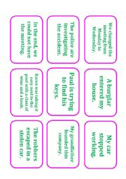 Phrasal Verb Card Game