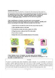 TEST ELECTRICAL APPLIANCES NINTH GRADE