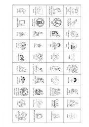 Classroom Language BINGO