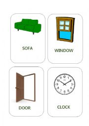 House Furniture Flashcards
