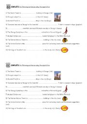 English Worksheet: Chicago a city of superlatives