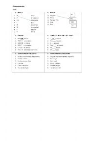 Grammar exercies