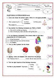 mid-semester 2-test 1, 7th form