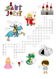 Modieval Crossword - Saint George