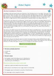 English Worksheet: B1 exam