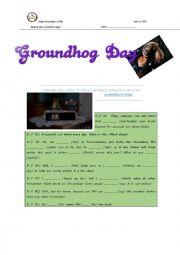 English worksheet: Groundhog Day Exam