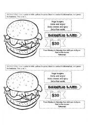 English worksheet: Advertisement