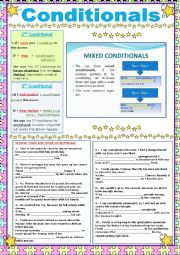 English Worksheet: 2nd, 3rd and Mixed Conditionals