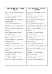 English Worksheet: Paul McCartney