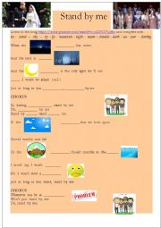 English Worksheet: Stand by Me Song