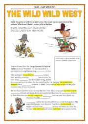 GAP FILLING & PASSIVE VOICE - COWBOYS